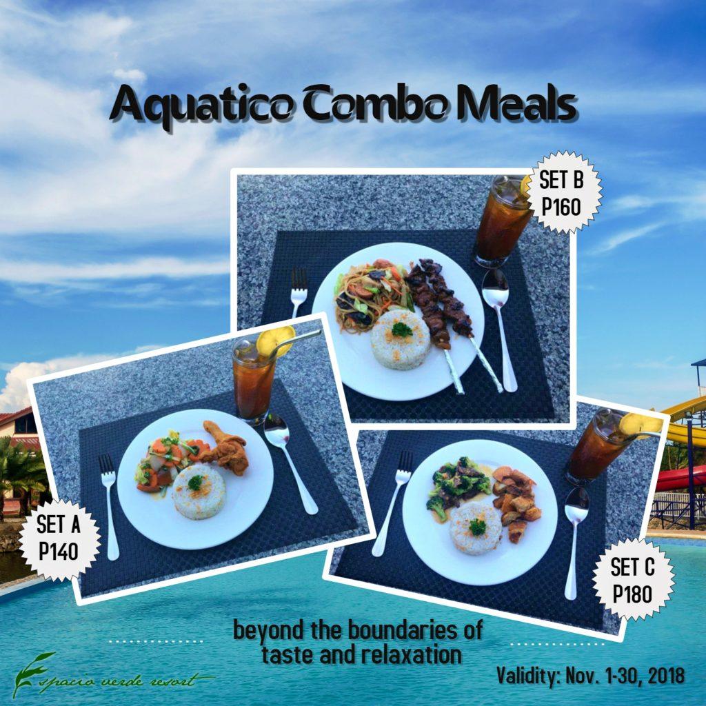 Espacio Verde's Aquatico Restaurant