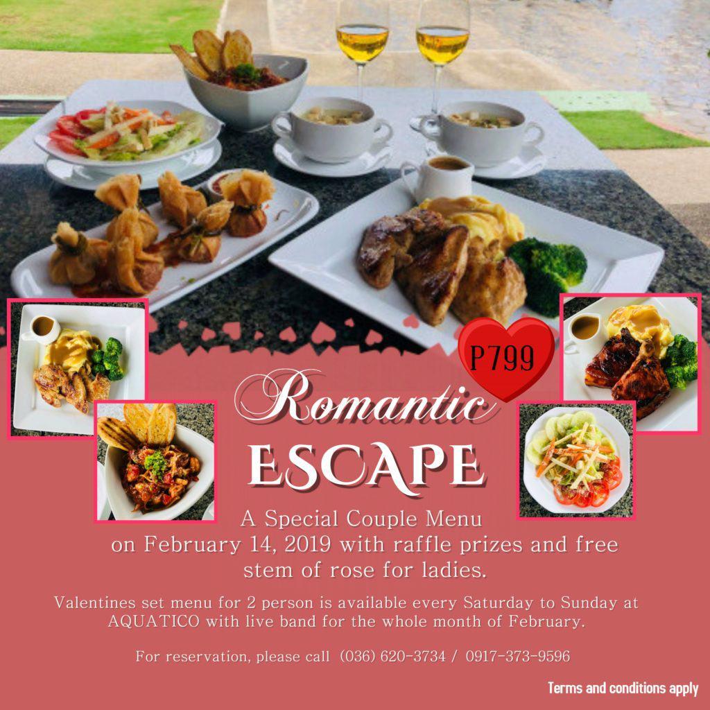 Espacio Verde Resort - Aquatico promo Feb 2019