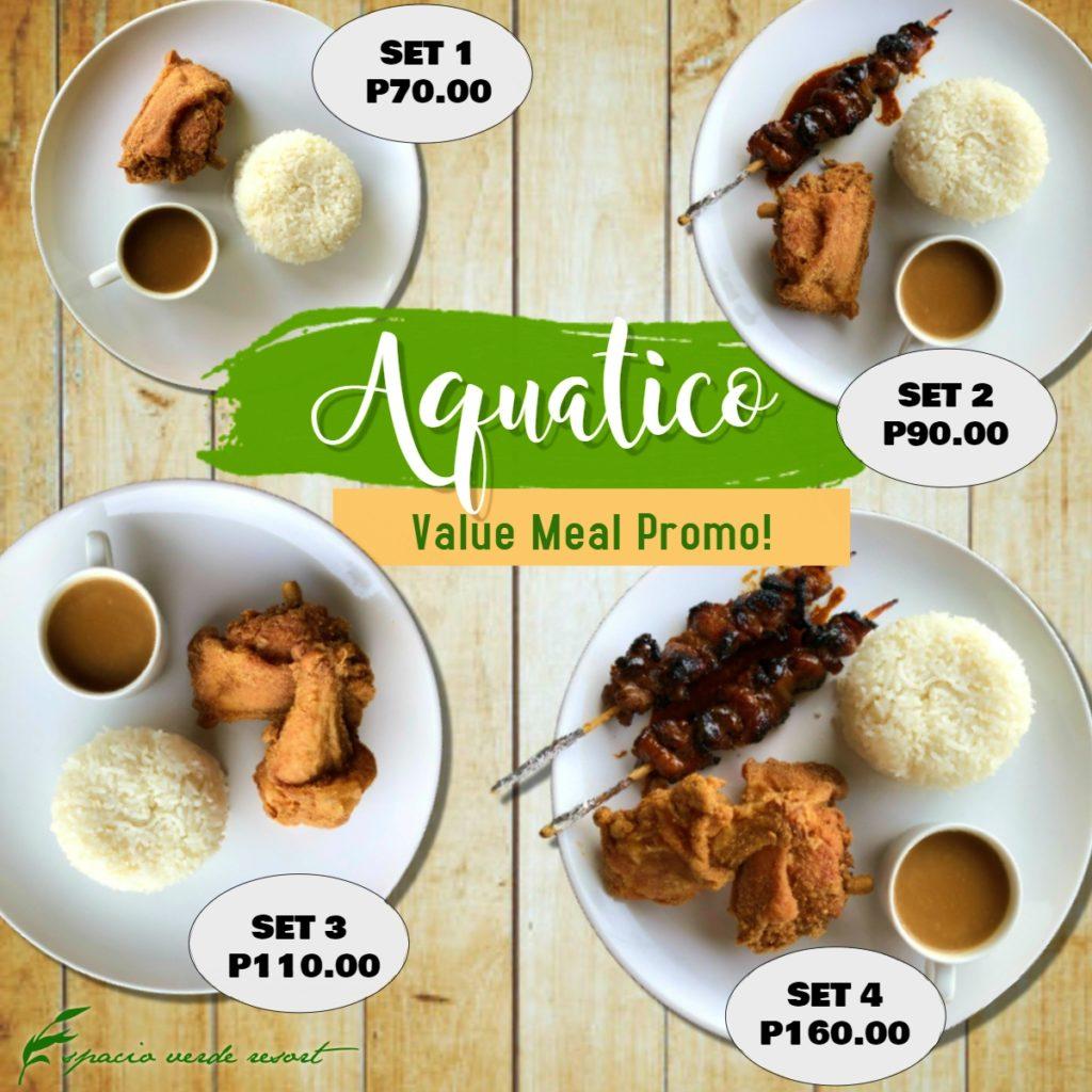 Aquatico Value Meal