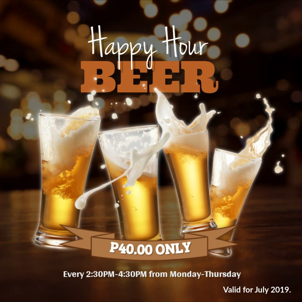 Happy Hour July 2019