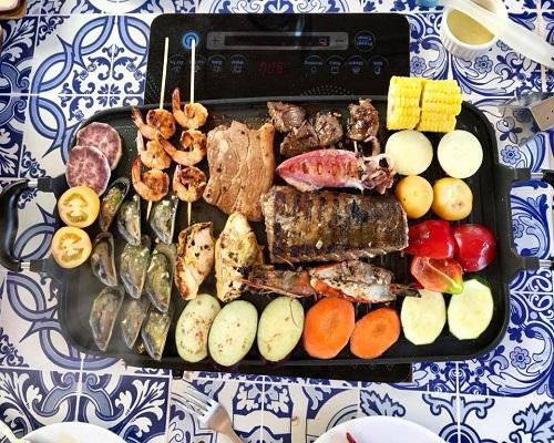Espacio Verde's Outdoor Cooking
