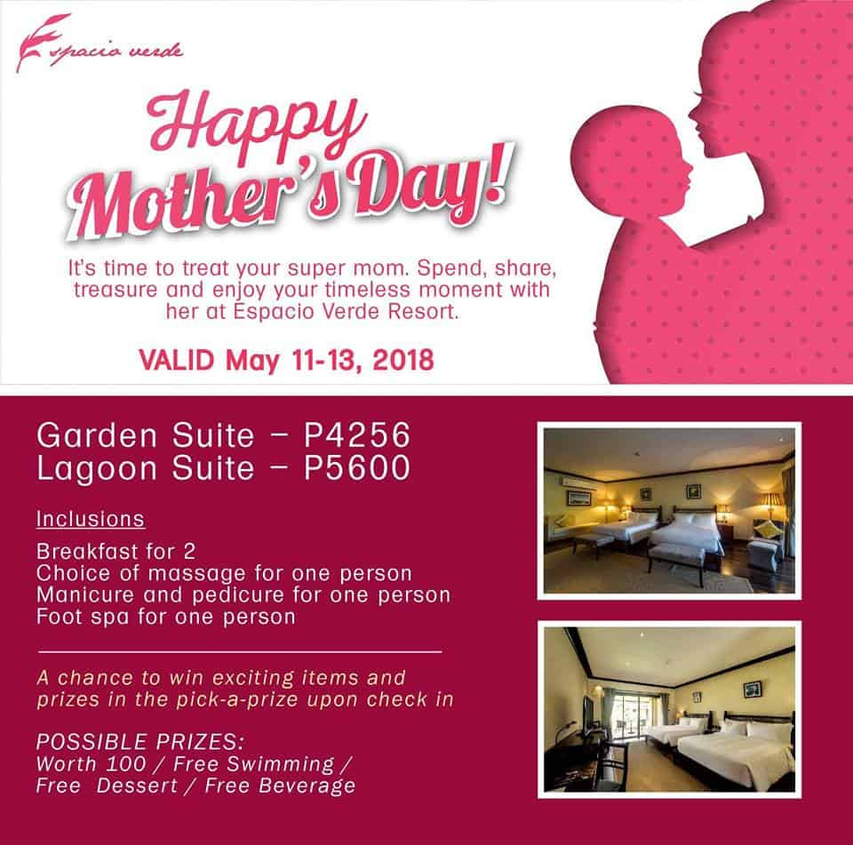 Mother's Day Promo 2018