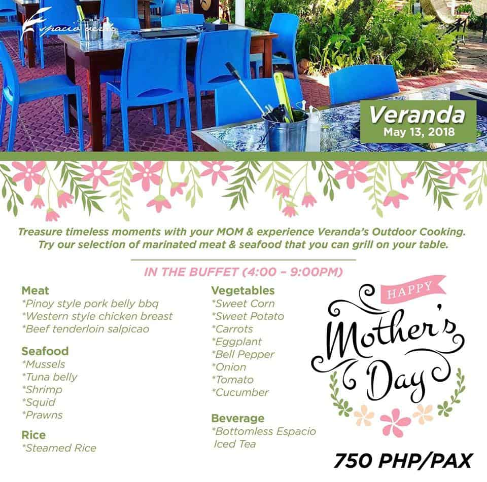 Veranda May Promo