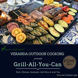 Espacio Verde Resort's Grill All You Can