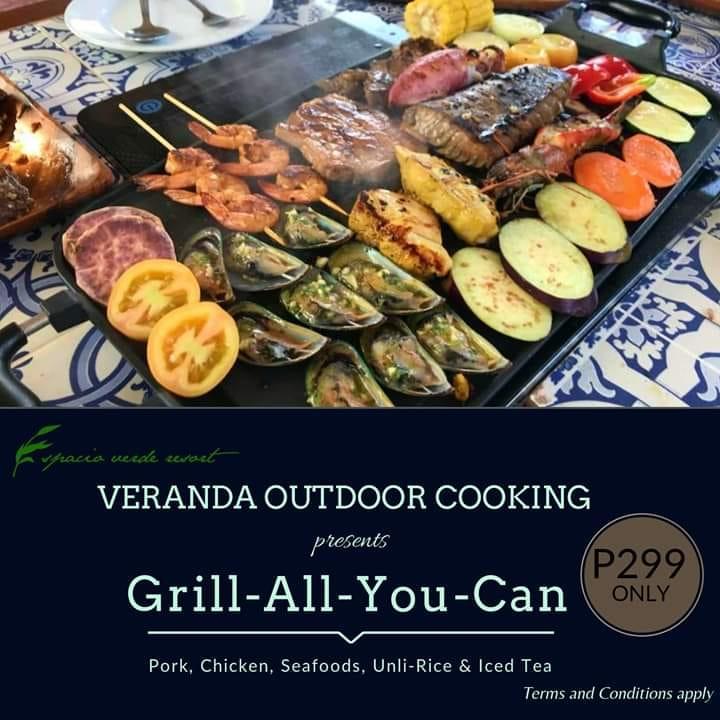 Espacio Verde Resort's Grill All You Can
